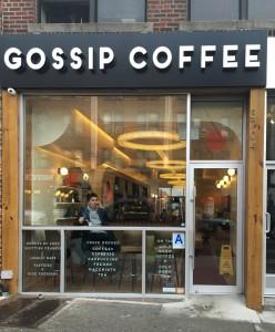 GOSSIP COFFEE外観