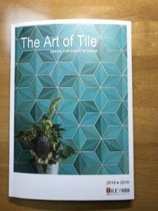 新カタログ The Art of Tile 2018 できました