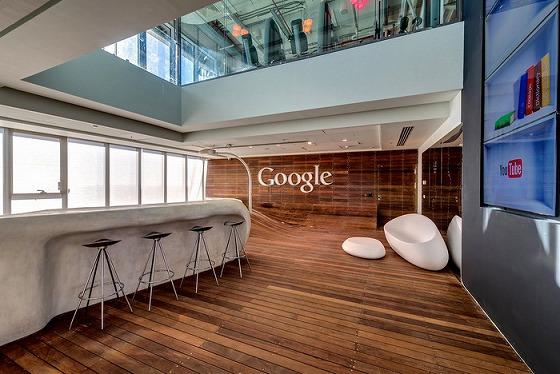 最先端企業のオフィスとは・・Googleオフィス(イスラエル)の様子