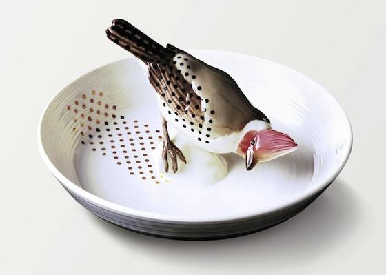 美しいミュンヘンの、メルヘンな皿