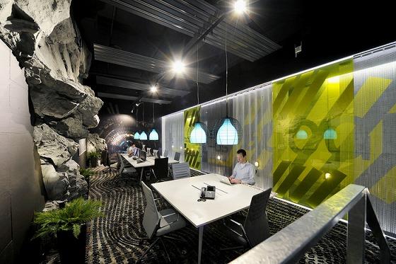 最先端企業Googleのオフィス(チューリッヒ)の様子