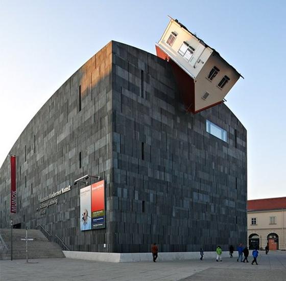 謎の(?)建築デザイン