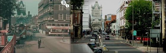 並べて比較!86年間でロンドンはどのように変化した?