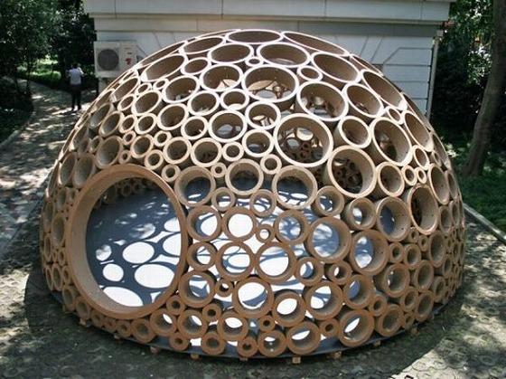 ダンボールで・・建築