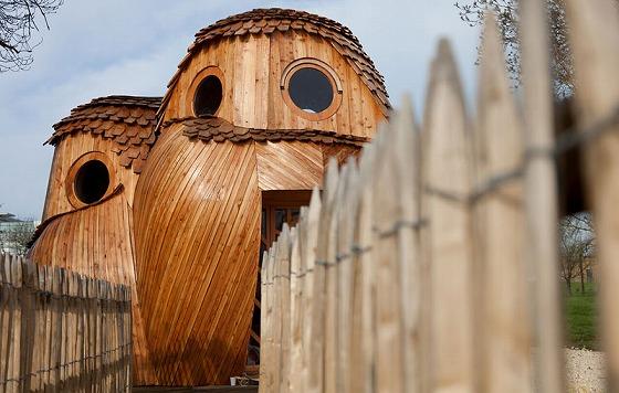(そのまんま)フクロウの家!