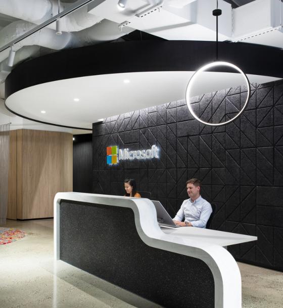 マイクロソフトのオフィス(メルボルン)