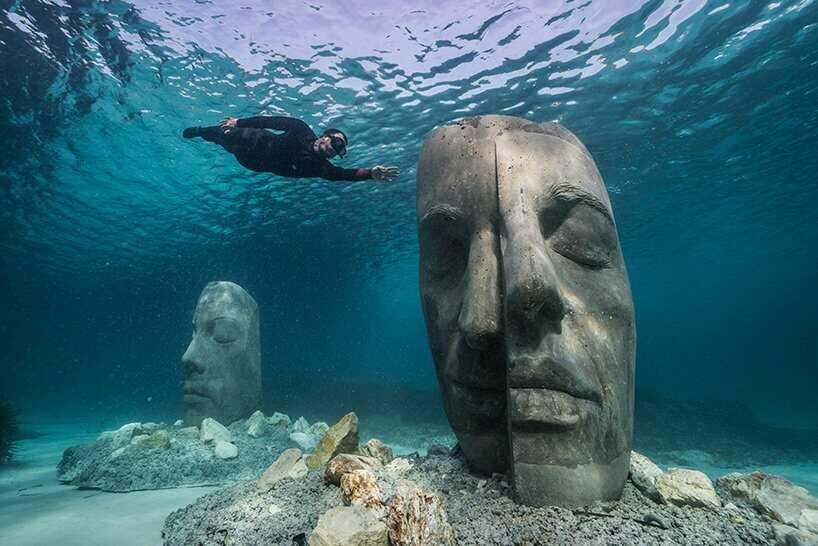 カンヌの水中ミュージアム